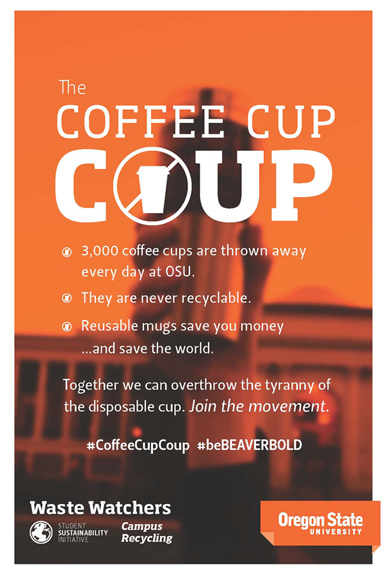 Coffee Cup Coup graphic